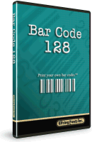 Bar code 128 Font Software Boxed Set
